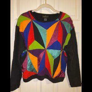 Vintage Carole Little Sport sweatshirt.